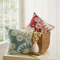 Birch Lane Isla Cotton Pillow Cover