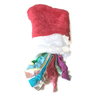 Christmas Hair Tie Gift - Girls Hair Ties in a Christmas Stocking - Women's Gift Hair Tie Stocking - Christmas Stocking Hair Accessories