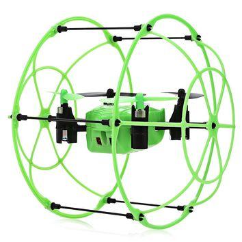 Walking Climbing Flying Modes 3 in 1 RC Drones Flying Helicopter 2.4GHz 4CH RC Quadcopter 3D Flip Climbing Wall Roller Copter