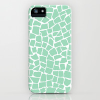 British Mosaic Mint iPhone & iPod Case by Project M