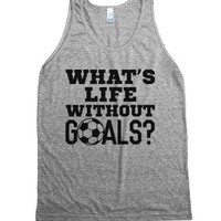 What's Life Without Goals? Soccer Tank Top (ide171956)-Tank
