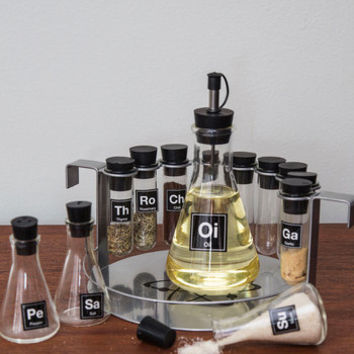Nifty Nerd Elemental, My Dear Spice Rack Set by ModCloth