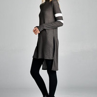 Great Lengths Heathered Knit Tunic