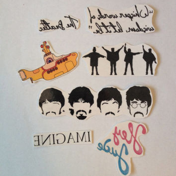 7 Beatles Temporary Tattoos- SmashTat