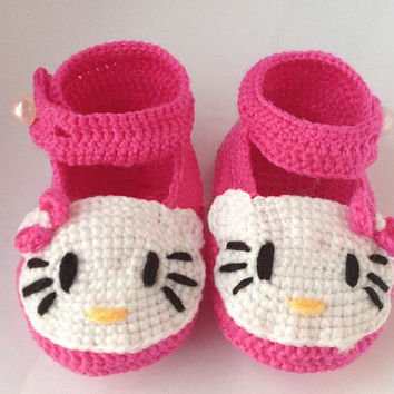Crochet Baby Shoes, Baby Shoes Knitting Shoes for Newborn as Baby Shower Gift(ZY001)