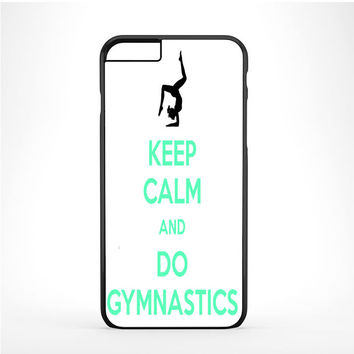 Keep calm and do Gymnastics Blue Text Iphone 6 Plus | 6s Plus Case