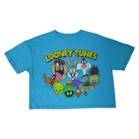 Junior's Looney Tunes Cropped Graphic Tank