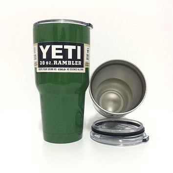 Yeti Colster 30Oz Tumbler Cups Handle 20oz Yeti Stainless Steel Insulated Tumblers Large Capacity Travel Rambler Coffee Cup Lids