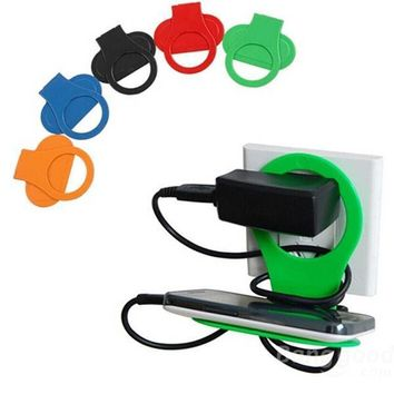 Holder Hangs Charger Charging Rack For Mobile Phone