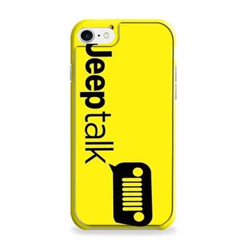 Jeep Talk Yellow iPhone 6 Plus | iPhone 6S Plus Case