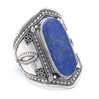 Lapis Love Middle Eastern Cuff