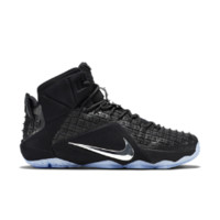 Nike LeBron 12 EXT RC Men's Shoe Size 8.5 (Black)