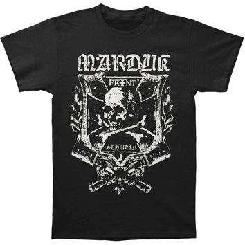Marduk Men's  Frontshwein Band T-shirt Black
