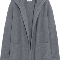 Chinti and Parker - Hooded merino wool and cashmere-blend cardigan