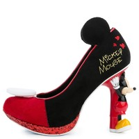 Irregular Choice Mickey Mouse & Friends Collection Women's Mickey Mouse Black High Heel
