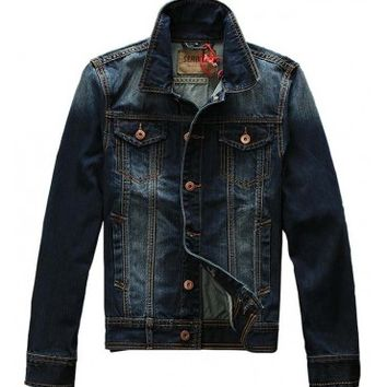 Seabar 185 Premium Denim Jacket - leatherandcotton