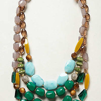 Anthropologie - Viridian Layer Necklace