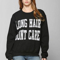 Graphic Print Pullover Sweater - Urban Outfitters