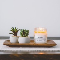Zen Garden - 9 oz Pure Soy Wax Candle (Mason Jar)