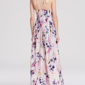 Kay Unger Gown - Floral Print