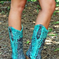 Cowboy's Sweetheart Boots
