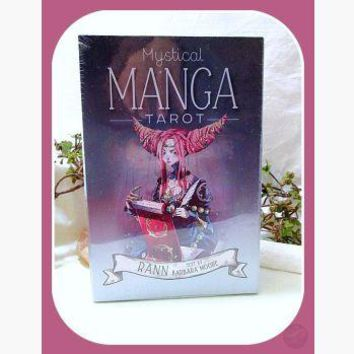 Mystical Manga Tarot Deck & Book