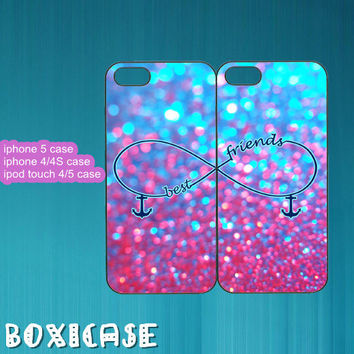 Sparkle,Best Friends,Infinity---iphone 4 case,iphone 5 case,ipod touch 4 case,ipod touch 5 case,in plastic,silicone and black,white.