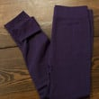 Fleece Lined Leggings- Purple
