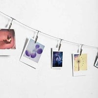 Metal Photo Clip String Set