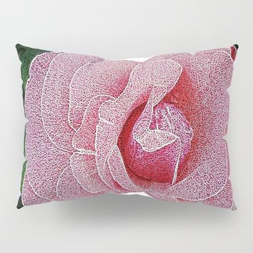 Garden Rose Pillow Sham by Pepita Selles