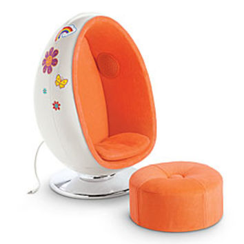 American Girl® Dolls: Julie's Egg Chair Set