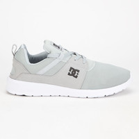 Dc Shoes Heathrow Mens Shoes Light Grey  In Sizes