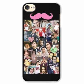 Markiplier Tumblr Collage iPod Touch 6 Case
