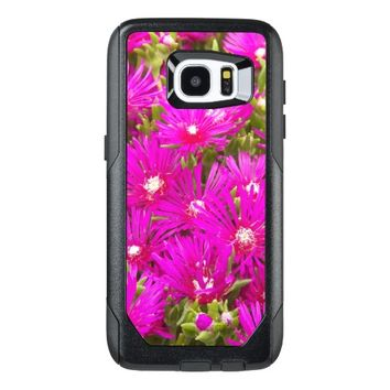 Pink Ice Plants Floral OtterBox Samsung Galaxy S7 Edge Case