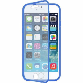 Apple iPhone 6s / 6 Case, Built-in Screen Protector Easy Grip Full Body Armor Case for Iphone 6S/6 - Blue