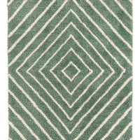 Jacquard-weave rya rug - Light beige - Home All | H&M GB