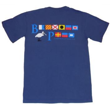 Bayview Signal Flags in Washed Navy