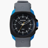 Nixon Ruckus Watch Black/Sapphire/Gray One Size For Men 25970614901