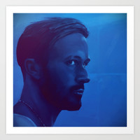 Only God Forgives Art Print by TwO Owls