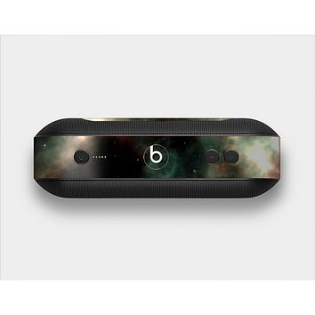 The Dark Green Glowing Universe Skin Set for the Beats Pill Plus