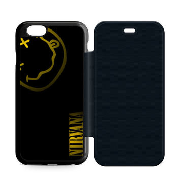 Nirvana Art Leather Wallet Flip Case iPhone 6 | 6S