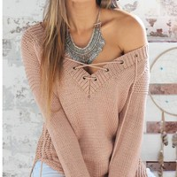 Sweater Long Sleeve Casual Bottoming Shirt [37749129242]