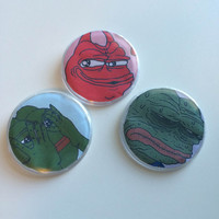 Pepe Pins Set #1