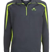 Stretch 1/4-Zip Pullover Golf Jacket (Green)