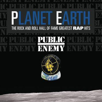 Public Enemy - Planet Earth: The Rock and Roll Hall of Fame Greatest Rap Hits LP