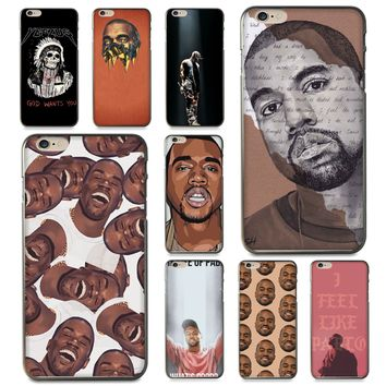 Kanye Omari West Coque Shell Phone Case for iPhone 8 7 6 6S Plus X 5 5S SE