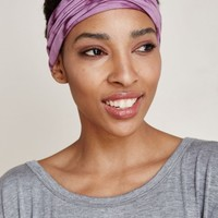 Organic Cotton Tie Dye Purple Headband