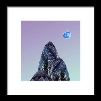 Urban Architecture - London, United Kingdom 8s - Framed Print