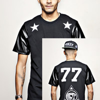 """KANYE WEST 77 YEEZY """" B and W """" T-shirt 