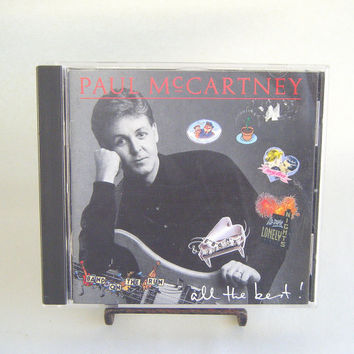 Paul McCartney All the Best CD Vintage Used Music Pop Classic Rock Superstar Beatles